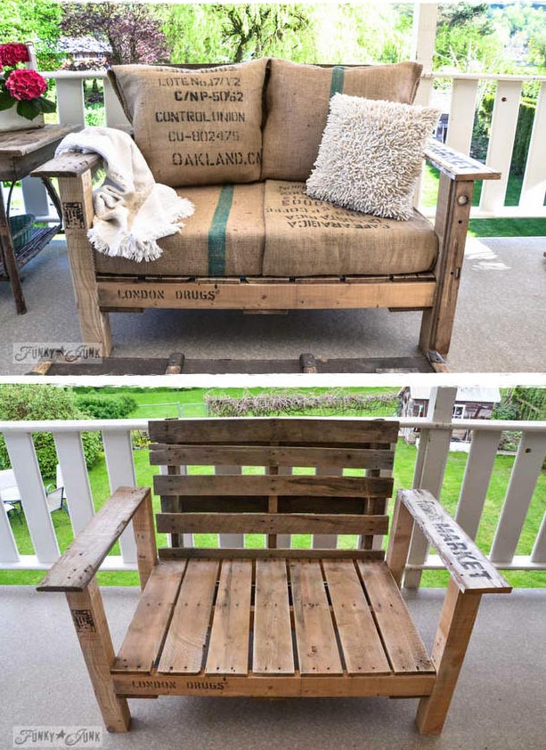 A Cool Pallet Chair