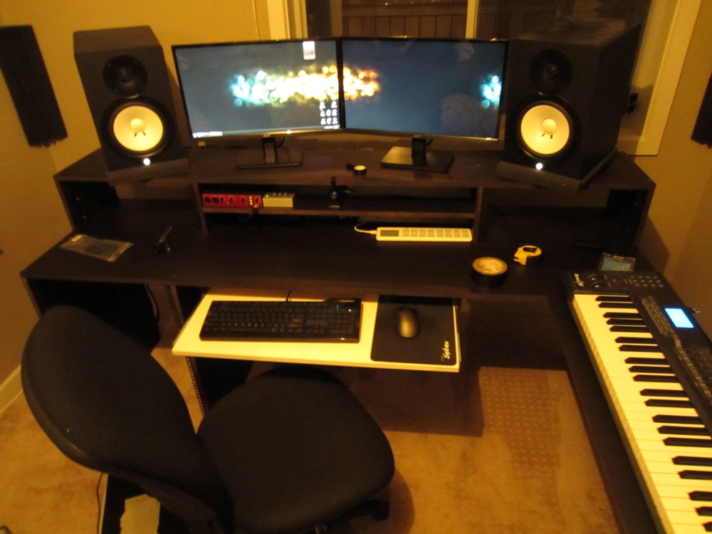 new recording studio desk