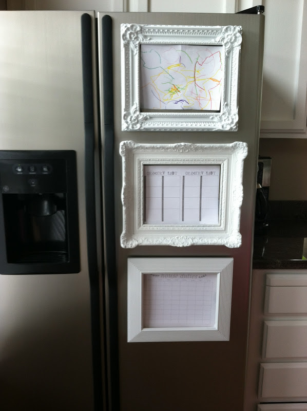 Diy Ornate frame magnets
