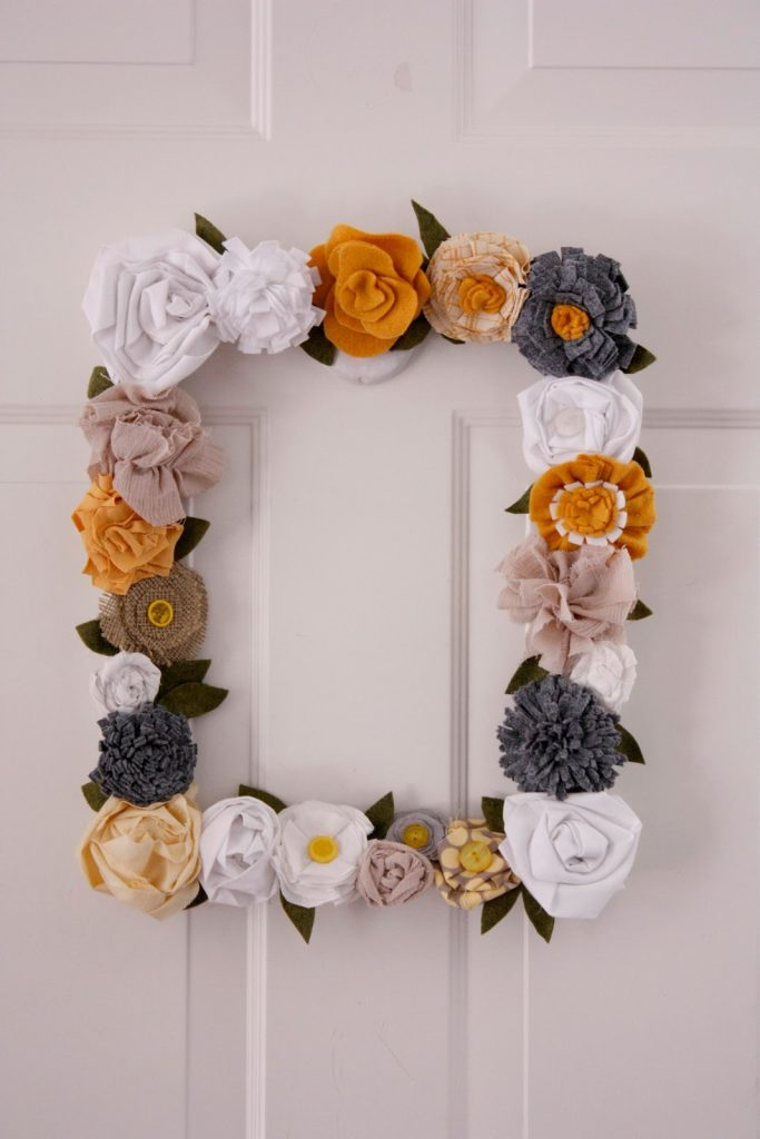 spring time flower frame