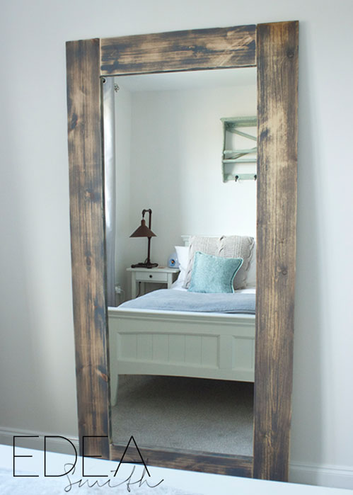UPCYCLED 'IKEA HACK' MIRROR FRAME